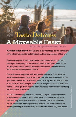 Page 8 of Taste Detours:  A Moveable Feast