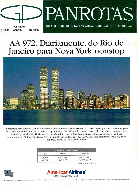 d83a4f433 Guia PANROTAS - Edição 289 - Abril 1997 by PANROTAS Editora - issuu
