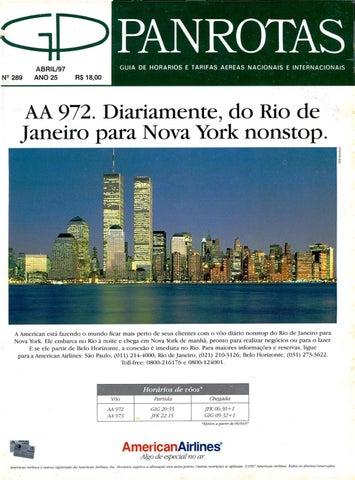 e737ed865 Guia PANROTAS - Edição 289 - Abril/1997 by PANROTAS Editora - issuu
