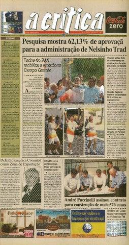 Jornal A Critica - Edição 1337 - 01 07 2007 by JORNAL A CRITICA - issuu 28bb7458be