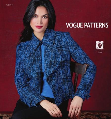 Vogue Patterns Fall 2018 Lookbook