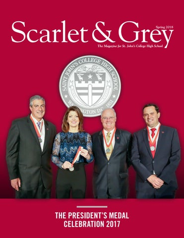 Scarlet & Grey - Spring 2018 by St  John's College High