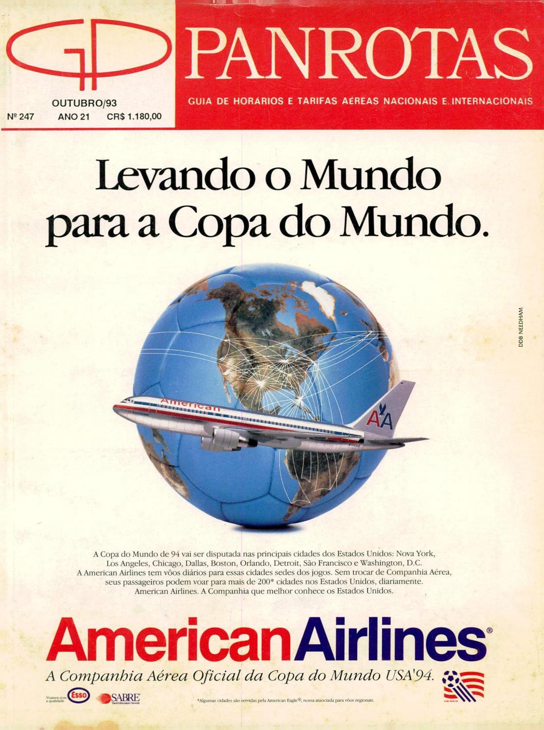 2e1a62361 Guia PANROTAS - Edição 247 - Outubro 1993 by PANROTAS Editora - issuu