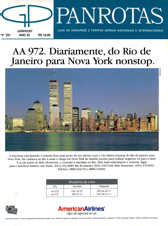 8607c873f6 Guia PANROTAS - Edição 291 - Junho 1997 by PANROTAS Editora - issuu