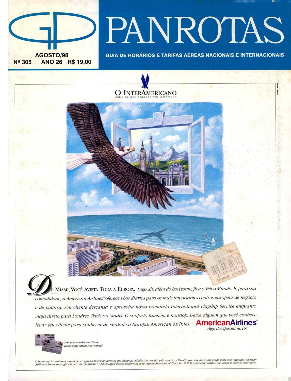 d1a2d7ced9ccf Guia PANROTAS - Edição 305 - Agosto 1998 by PANROTAS Editora - issuu