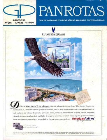 2ada4d8747f Guia PANROTAS - Edição 305 - Agosto 1998 by PANROTAS Editora - issuu