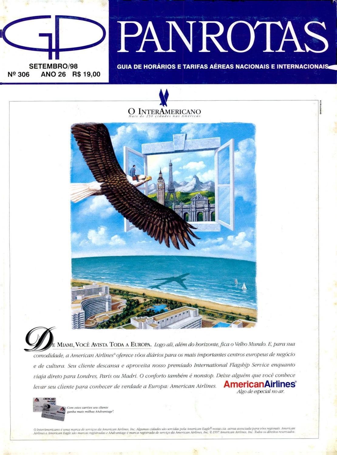 Guia PANROTAS - Edição 306 - Setembro 1998 by PANROTAS Editora - issuu 512ecbe059174