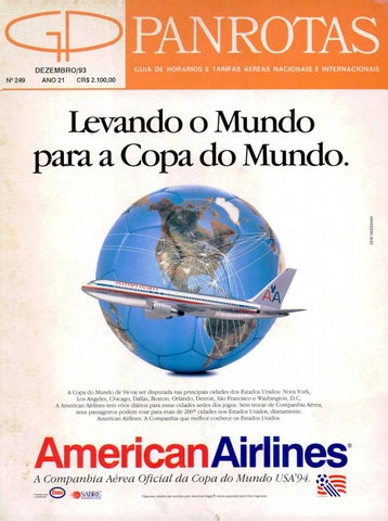d46fc61f93 Guia PANROTAS - Edição 249 - Dezembro 1993 by PANROTAS Editora - issuu