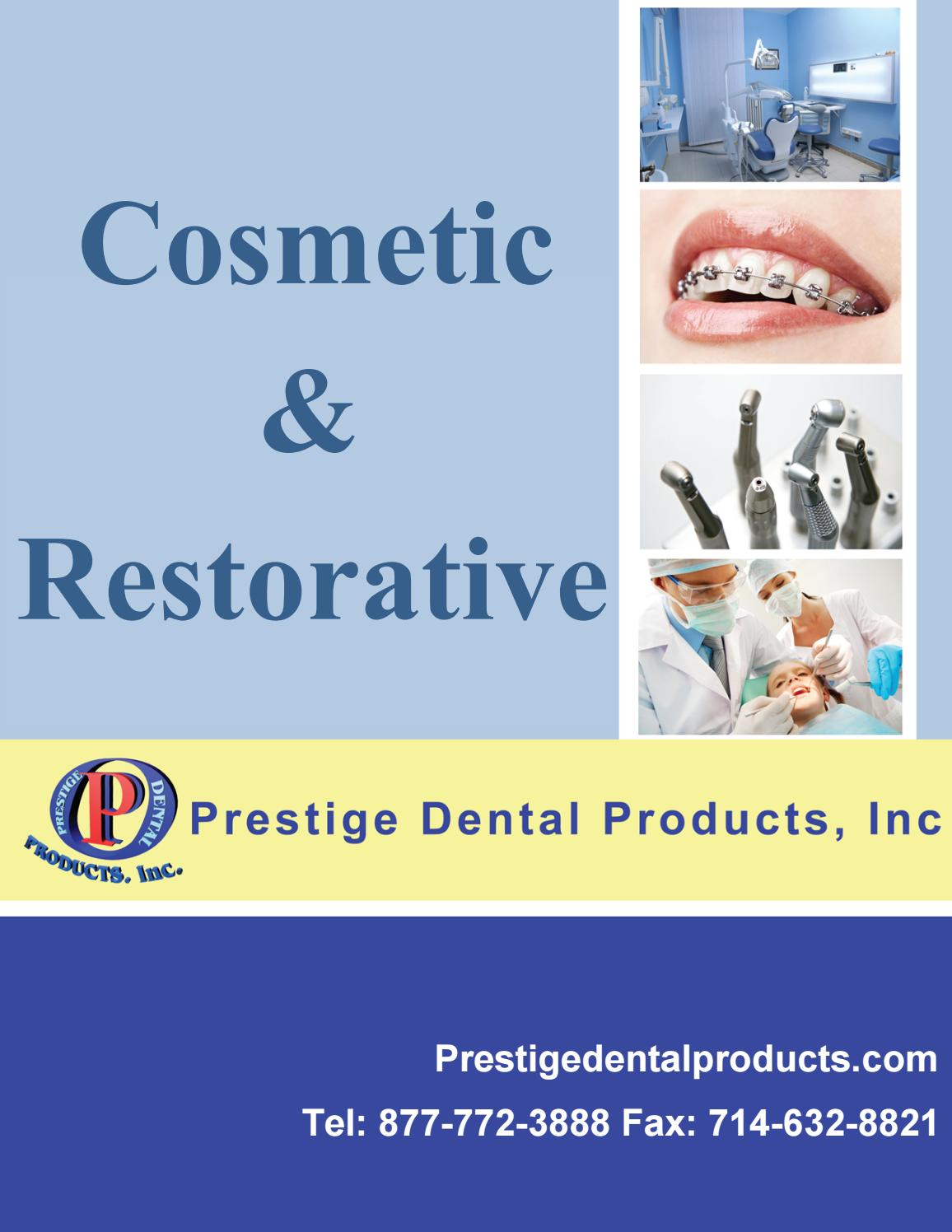 Dental Cosmetic Restorative Catalog By Prestigedental0 Issuu 110502 The Problems And Potential Of Portable Power