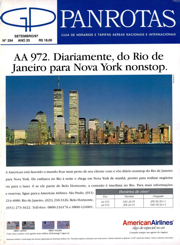 Guia PANROTAS - Edição 294 - Setembro 1997 by PANROTAS Editora - issuu 0159024d7b