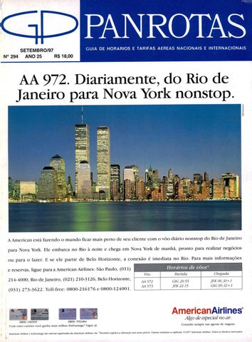 Guia PANROTAS - Edição 294 - Setembro 1997 by PANROTAS Editora - issuu 69e87621ec