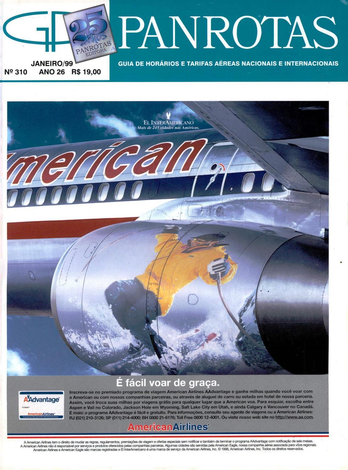 8e2fda84d47 Guia Panrotas - Edição 310 - Janeiro 1999 by PANROTAS Editora - issuu