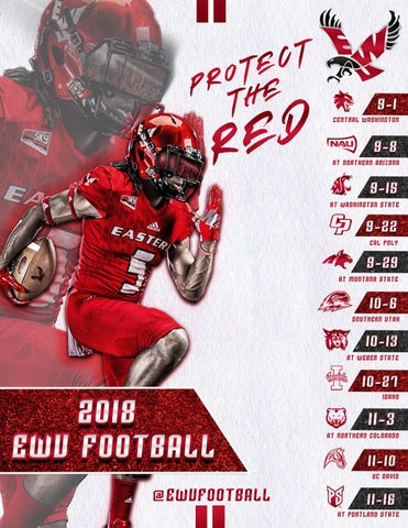2018 Football Fact Book by Eastern Washington University - issuu 6f7b47c84