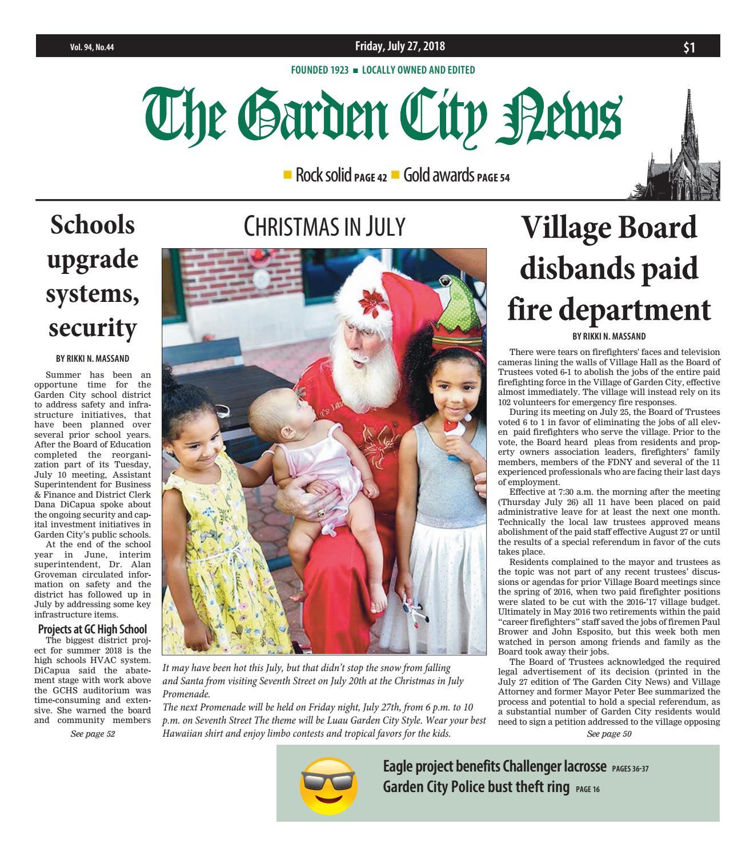 9a72806f42f The Garden City News (7 27 18) by Litmor Publishing - issuu