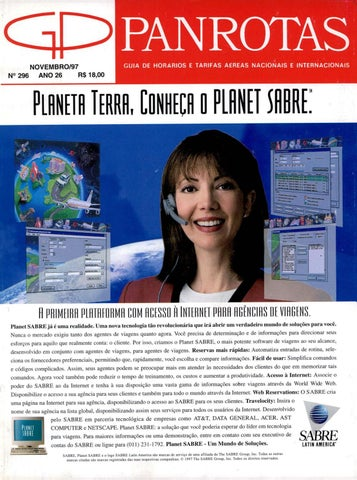 Guia PANROTAS - Edição 296 - Novembro 1997 by PANROTAS Editora - issuu c200b96318