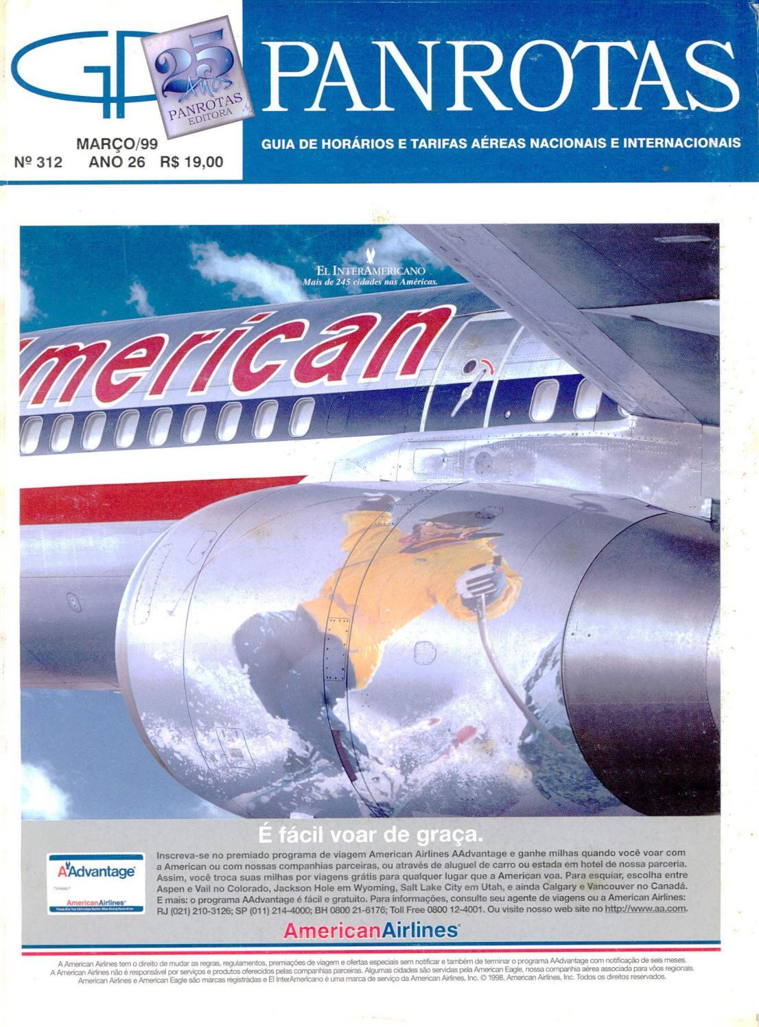 Guia PANROTAS - Edição 312 - Março 1999 by PANROTAS Editora - issuu 701321c70d5
