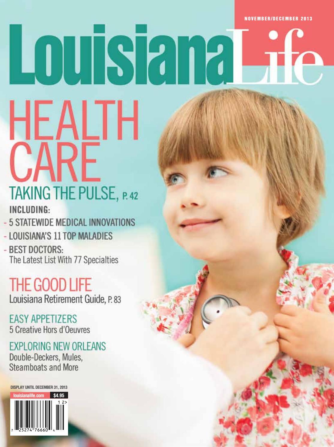 9642a38a3 Louisiana Life November-December 2013 by Renaissance Publishing - issuu