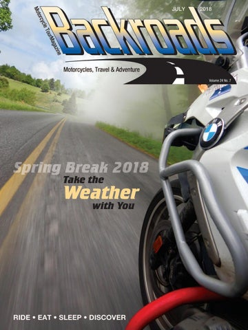 July 2018 Backroads by Backroads Magazine - issuu