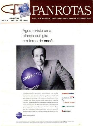 Guia PANROTAS - Edição 315 - Junho 1999 by PANROTAS Editora - issuu 2acea19d5a