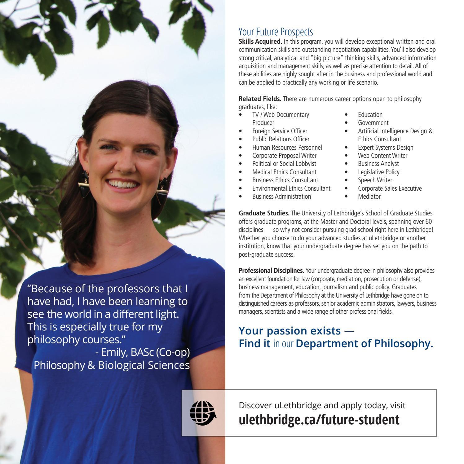 lethbridge university programs