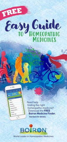 Easy Guide to Boiron Homeopathic Medicines by Boiron USA - issuu