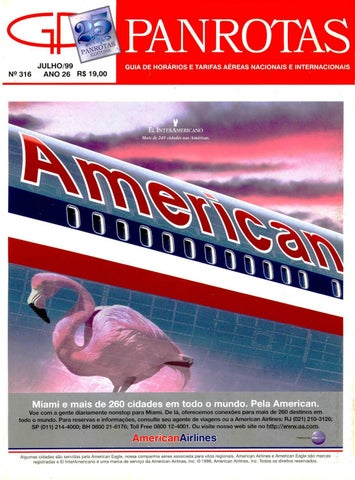 d5e071aab7c Guia PANROTAS - Edição 316 - Julho 1999 by PANROTAS Editora - issuu