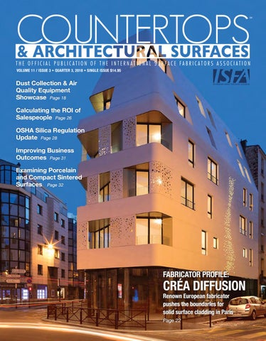 ISFA's Countertops & Architectural Surfaces Vol  11, Issue 3