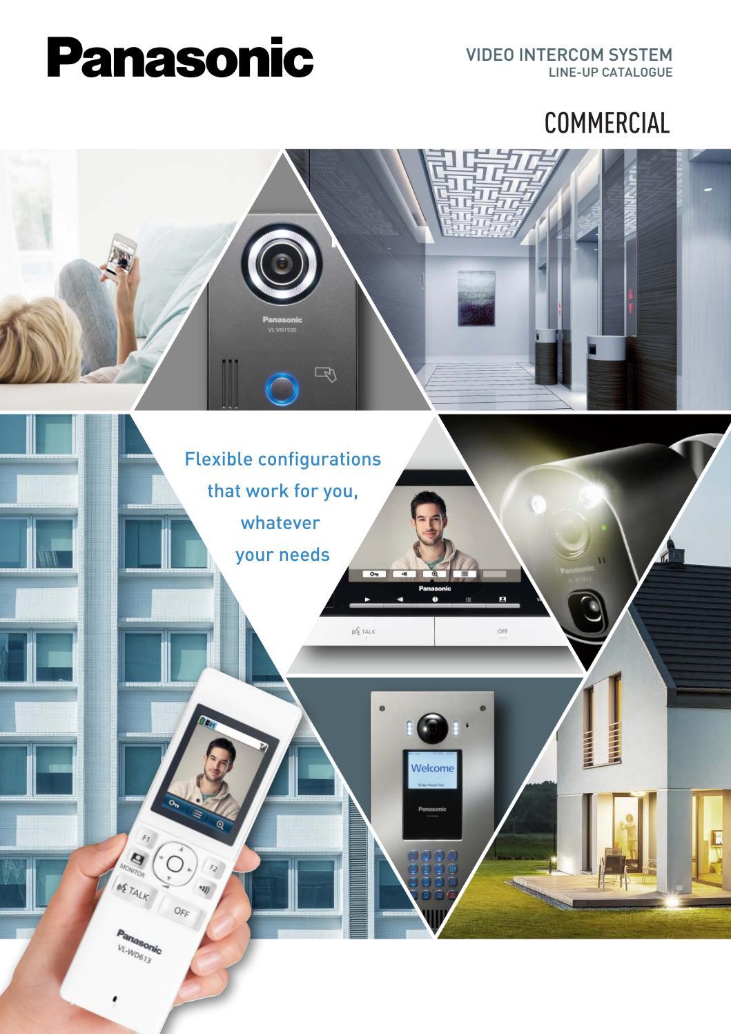 Video Intercom Lobby Unit 8-Button Door Camera for 4-wires Video Doorphones