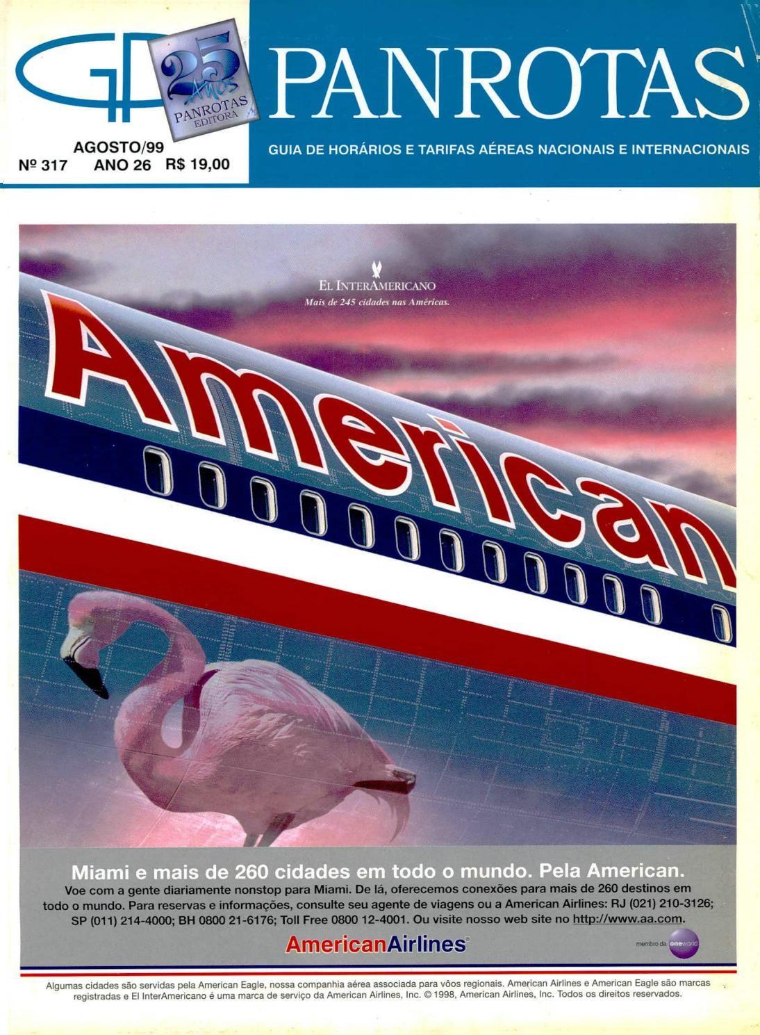 Guia PANROTAS - Edição 317 - Agosto/1999 by PANROTAS Editora - issuu