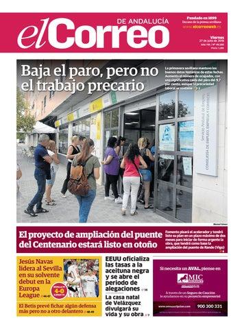 91fa6ca9894 27.07.2018 El Correo de Andalucía by EL CORREO DE ANDALUCÍA S.L. - issuu