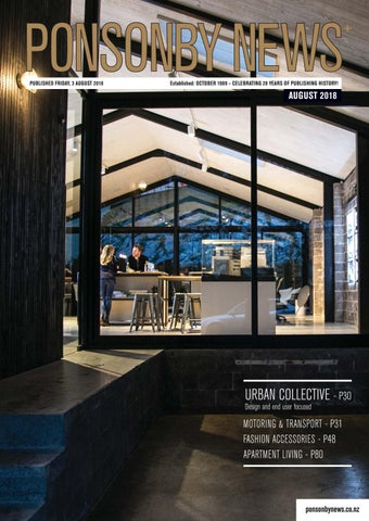400a1bec3f PONSONBY NEWS - AUGUST'18 by Ponsonby News - issuu