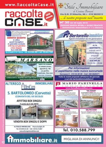 Raccoltacase Genova 30 - 2018 by Publidok S.r.l. - issuu