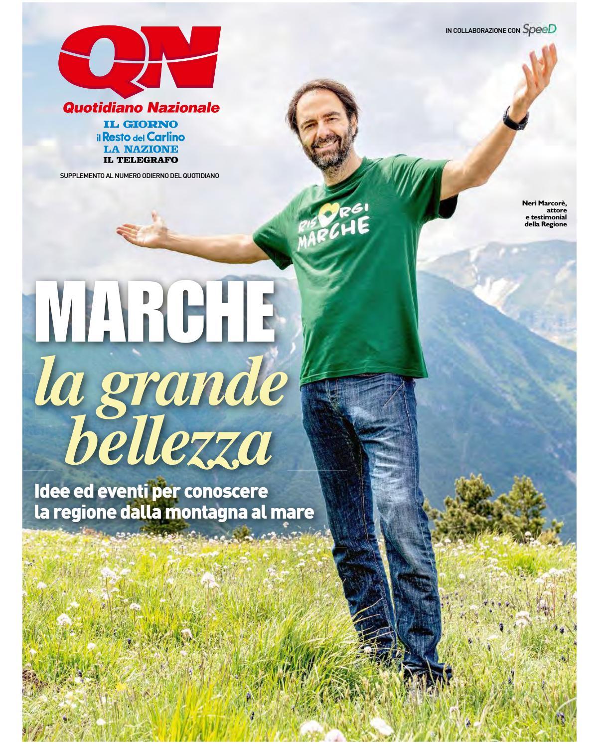 Speciale Marche - QN - Resto del Carlino luglio 2018 by Marche Tourism -  issuu a37a8cc58fa7