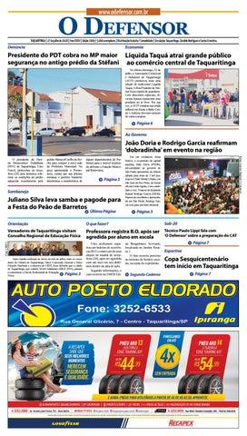 e51fbc6b60 Jornal O Defensor 27 de julho de 2018 by gabriel baglioti - issuu