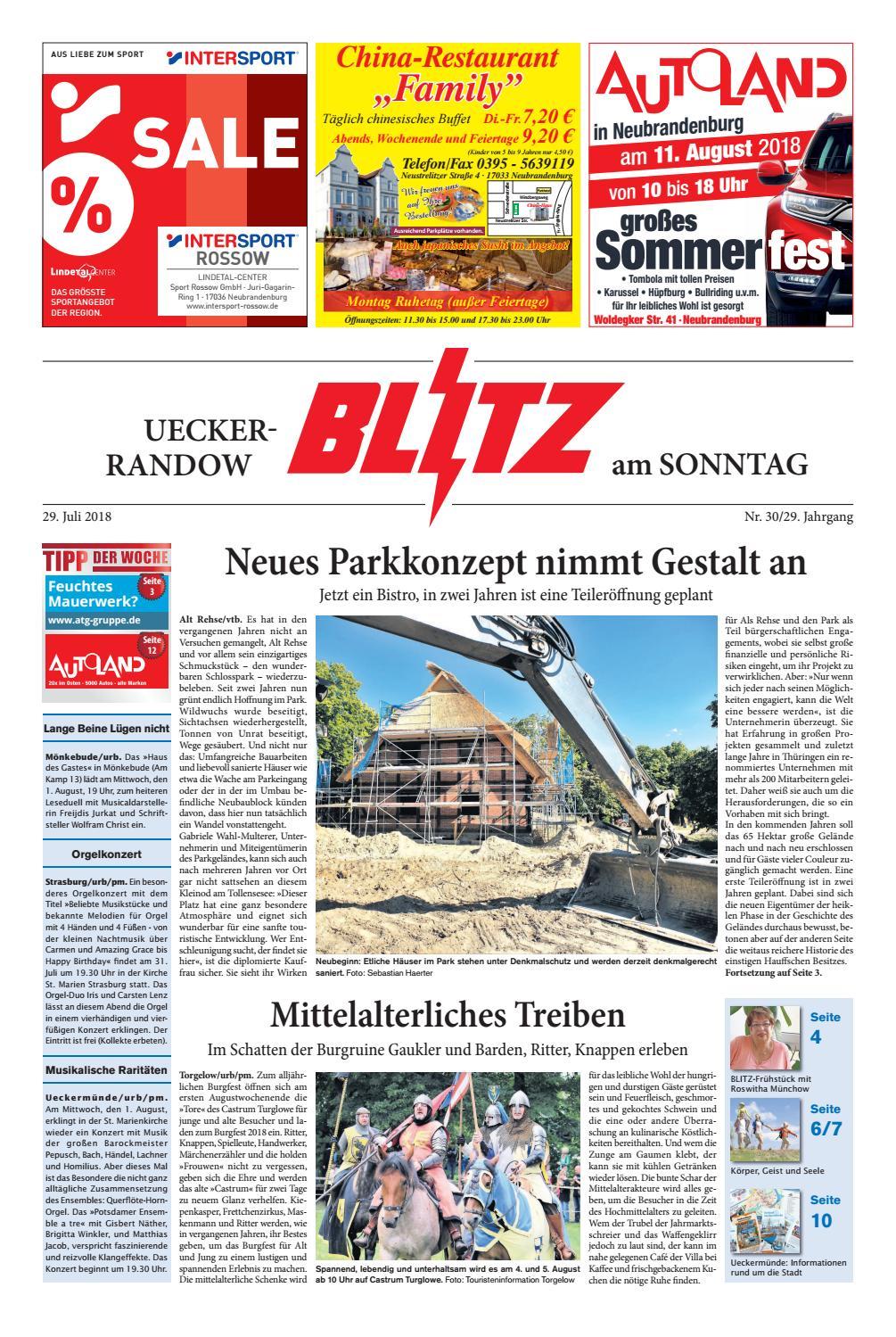 vom 29.07.2018 by Blitzverlag - issuu