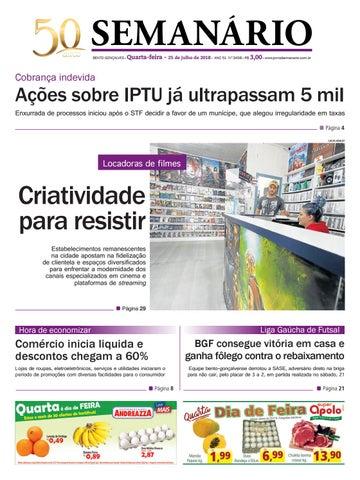 94c0f6170d Jornal Semanário – 25 de julho de 2018 – ano 51 – nº 3457 by Jornal ...