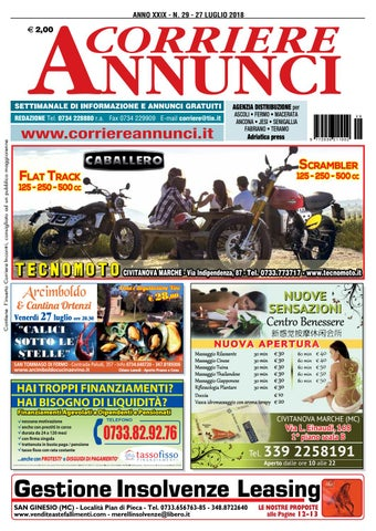 brand new 2aa35 084b7 Corriere 29-2018 by Corriere Annunci - issuu