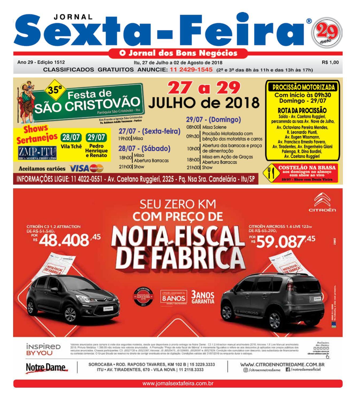 9f735421de Jornal Sexta Feira, Itu - Edicao 1512 by Jornal Sexta Feira - issuu