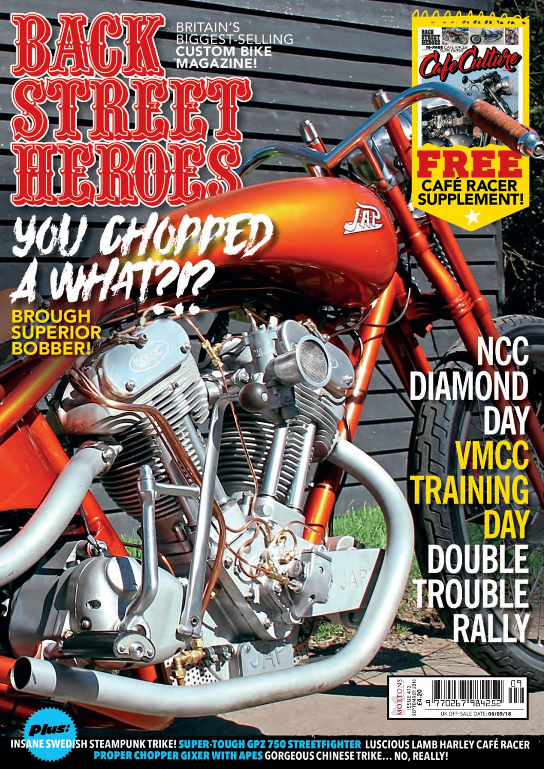 73c849bef5 Back Street Heroes - 413 September 2018 by Mortons Media Group Ltd - issuu