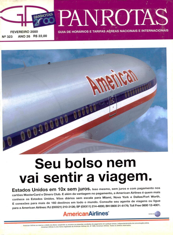 Guia PANROTAS - Edição 323 - Fevereiro 2000 by PANROTAS Editora - issuu 83069f82a7700