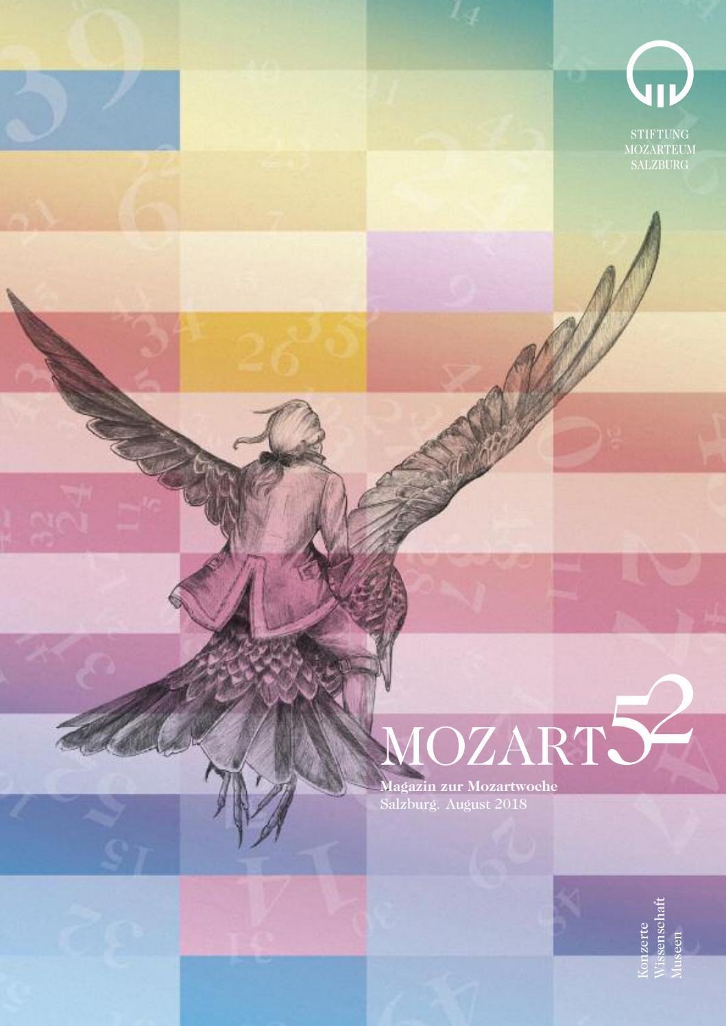 Mozart 52 Magazin zur Mozartwoche / Mozart Week / 2019 / Stiftung ...