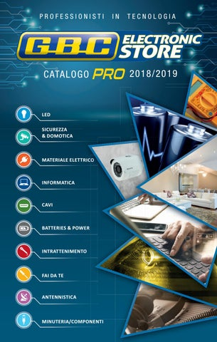 Catalogo GBC Pro 2018 2019 - Completo by Kon.El.Co. S.p.a. - issuu e47133db2d1c