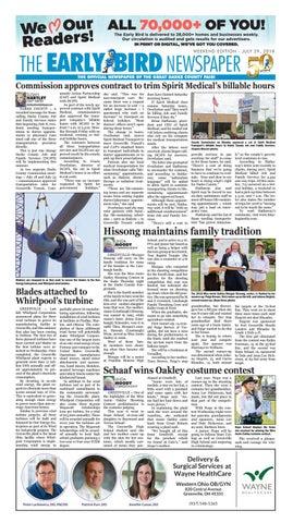 Early bird newspaper 072918 by the early bird issuu.