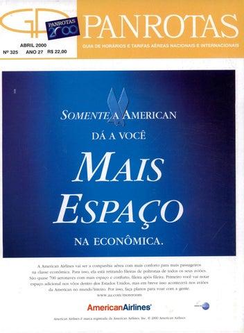 51f45976a Guia PANROTAS - Edição 325 - Abril 2000 by PANROTAS Editora - issuu