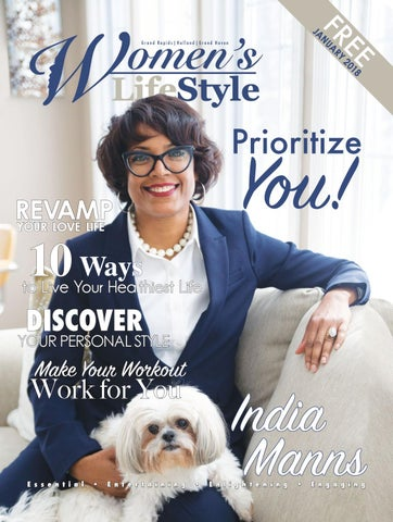 58a27529b384 Women's LifeStyle Magazine, January 2018, Prioritize You! by ...