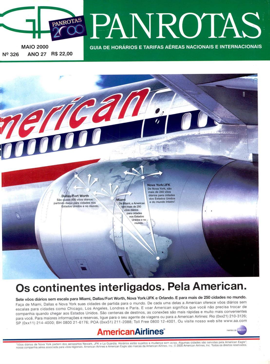 Guia PANROTAS - Edição 326 - Maio 2000 by PANROTAS Editora - issuu 3d8f6a177c7