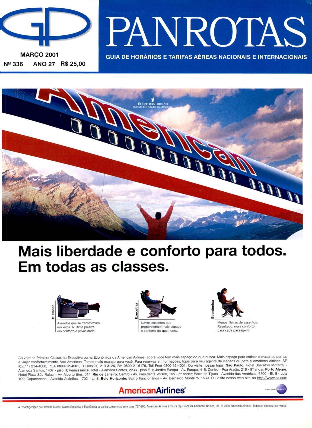 Guia Panrotas - Edição 336 - Março 2001 by PANROTAS Editora - issuu 79ed5a74142