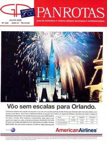 fc221ee0f527f Guia PANROTAS - Edição 328 - Julho 2000 by PANROTAS Editora - issuu