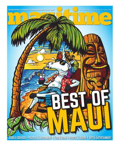 22 06 Best Of Maui 2018, July 19, 2018, Volume 22, Issue 06