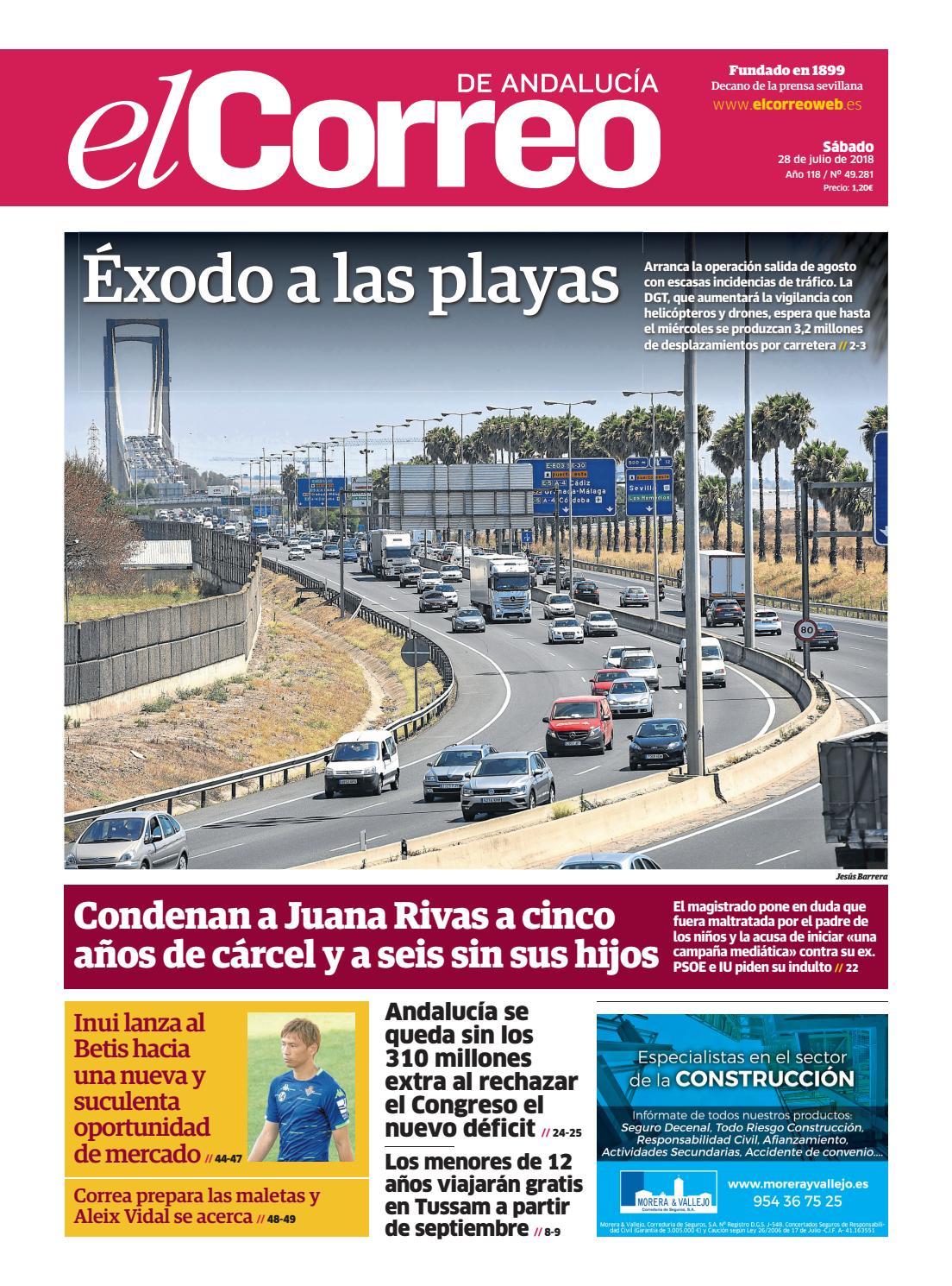 73e6c16cf 28.07.2018 El Correo de Andalucía by EL CORREO DE ANDALUCÍA S.L. - issuu